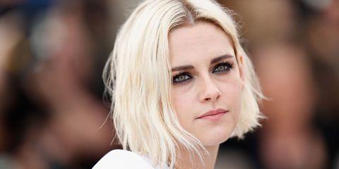 Kristen Stewart explains her platinum blonde hair