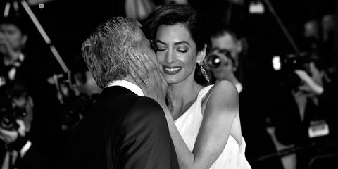 Amal and George Clooney at Cannes