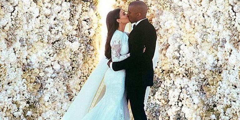 Kim and Kanye first kiss