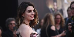 Anne Hathaway at the premiere of 'Alice Through The Looking Glass'