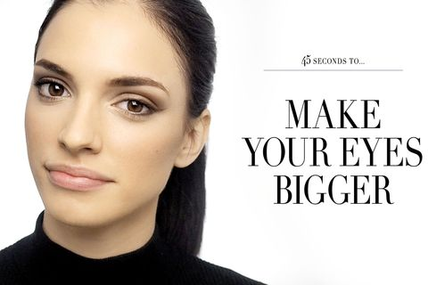VIDEO: How to make your eyes look bigger in just 45 seconds