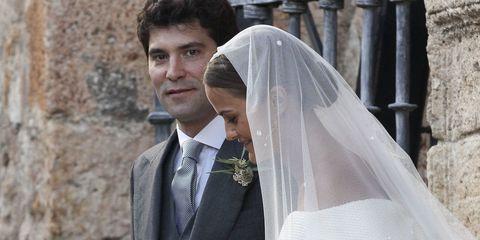 Lady Charlotte Wellesley marries Alejandro Santo Domingo