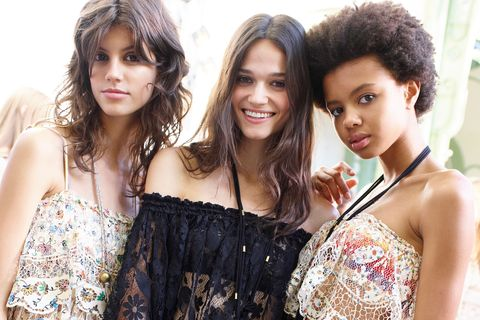 cd9e104372a Chloe spring summer 2016 backstage