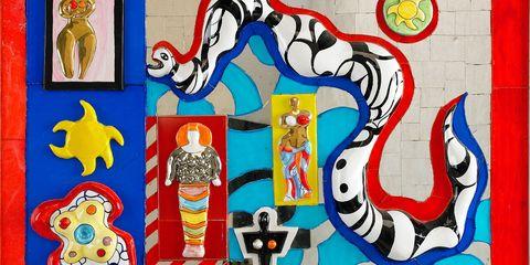Serpent et Deesse by Niki de Saint Phalle