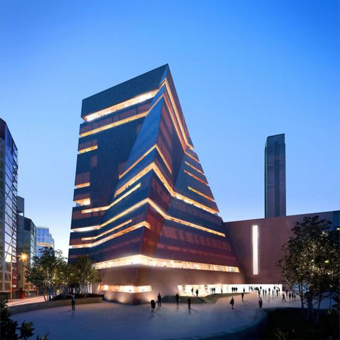 Daytime, Architecture, Tower block, Metropolitan area, Facade, Commercial building, City, Urban area, Building, Mixed-use,