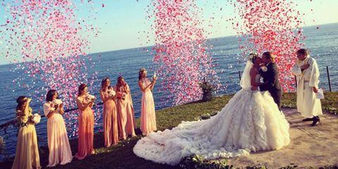 Giovanna Battaglia's Capri wedding