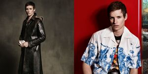 Eddie Redmayne for Prada