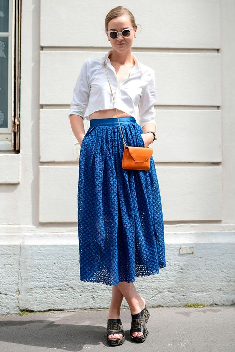 How to wear a crop top like a grown-up