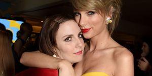 Lena Dunham Taylor Swift