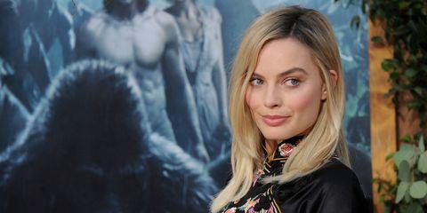 Margot Robbie at the Legend of Tarzan premiere