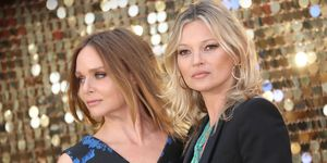 Stella McCartney and Kate Moss on the red carpet