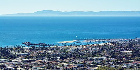 Santa Barbara cityscape