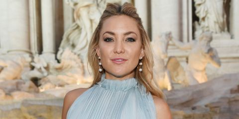 Kate Hudson at then Fendi show in Rome
