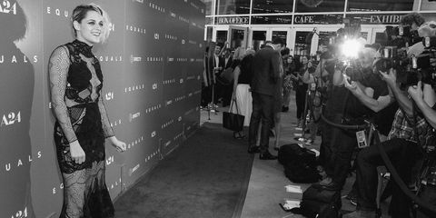 Kristen Stewart at the Los Angeles premiere of 'Equals'