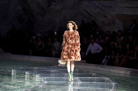 Fendi 90th anniversary show, Fendi in Rome
