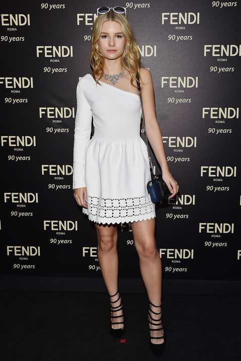 best dressed, Fendi 90th anniversary show, front row, couture, Rome
