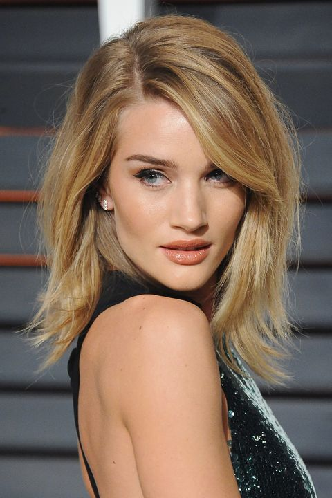 Rosie Huntington Whiteleys Hairstyles Over The Years