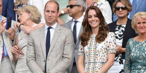 Duke and Duchess of Cambridge at Wimbledon