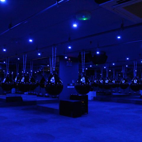Electricity, Hall, Majorelle blue, Light fixture, Decoration, Electrical supply, Ceiling fixture,