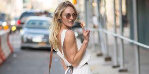 Candice Swanepoel   Summer style advice