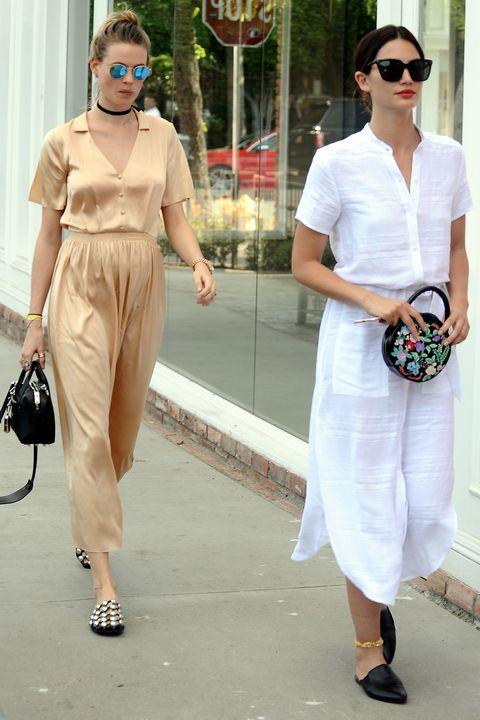 celebrity summer street style – summer dressing inspiration