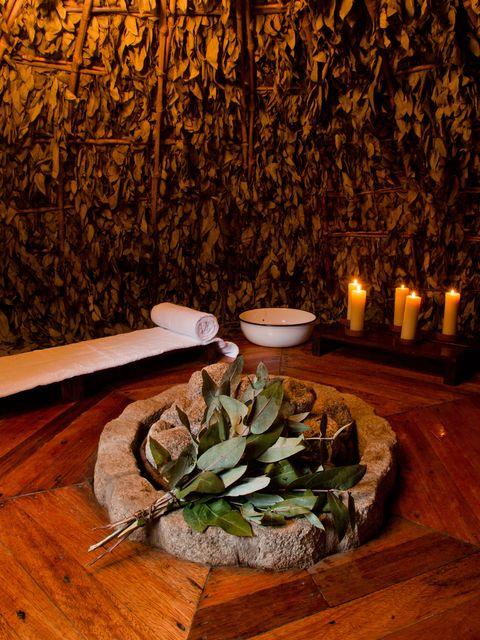 Andean sauna