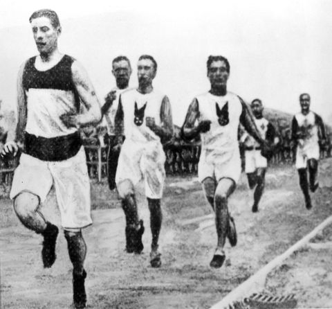 <p>You think he would've learned from that guy in 1896, but...nope. In 1904, American marathon runner Fred Lorz stopped running after nine miles and hopped in his manager's car to be driven for the next ELEVEN miles. The car broke down a few miles short of the finish line so Lorz walked the rest of the way to the stadium, prompting people who saw him arrive on foot to greet him as the victor. Rather than keep the charade up too long, he admitted that he wasn't <em>really</em> the winner before he was found out...but not before indulging it for a little.</p>