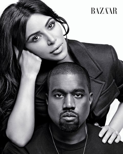 Bazaar Icons September 2016 issue shoot with Kim Kardashian, Kanye West, Lara Stone, Natasha Poly and Lindsay Wixson