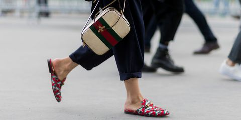 Backless loafers