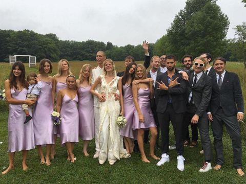 celebrity bridesmaids, Hanne Gabby Odiele wedding