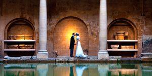 Bath Spa and pump rooms wedding venue