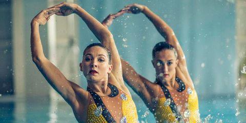 Synchronised swimming Team GB
