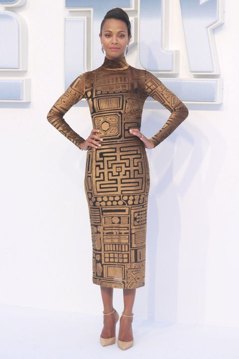 best dressed, Zoe Saldana