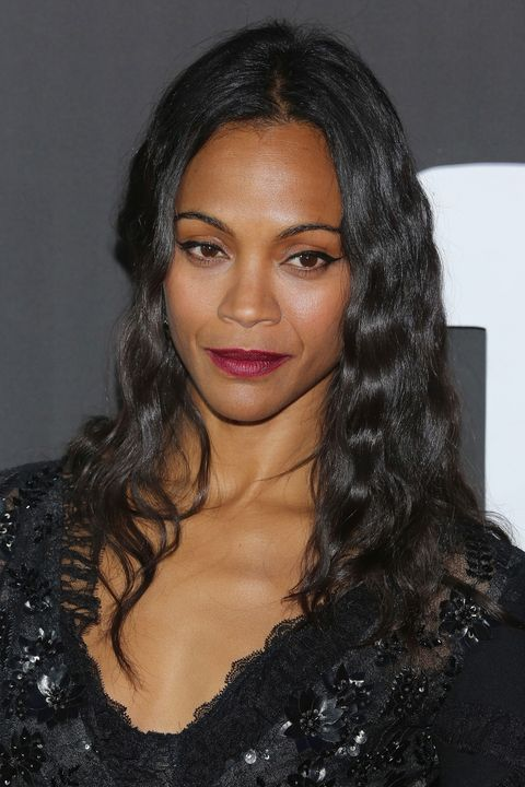 Zoe Saldana Beauty Muse