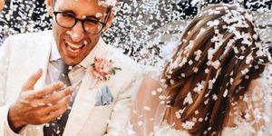 Agyness Deyn's wedding