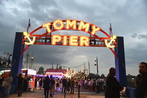Tommy Hilfiger New York Fashion Week show carnival pictures