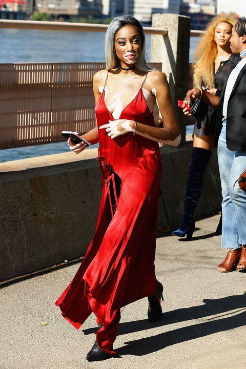 Kanye West Yeezy Season 4 show during New York Fashion Week