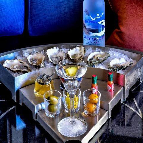 Savoy American Bar, Oyster and Martini, 2016