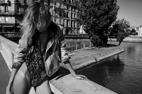 15462805142 Anthony Vaccarello debut Saint Laurent campaign revealed