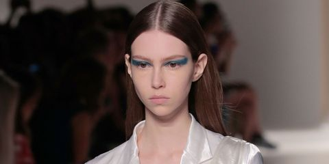 Make-up trends header: Victoria Beckham