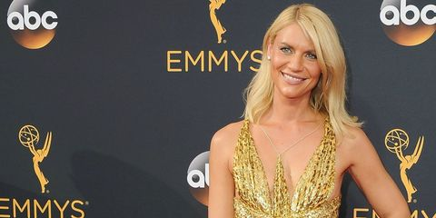 Claire Danes in Schiaparelli at the Emmys