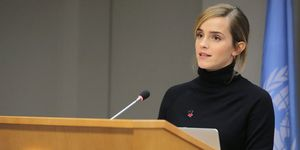 Emma Watson speaking to the U.N. Assembly