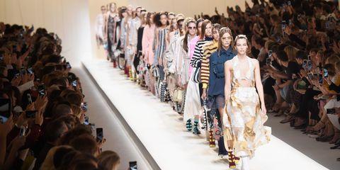 Fendi spring/summer 2017, Milan Fashion Week