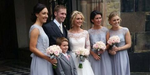 Laura Trott and Jason Kenny get married - wedding pictures