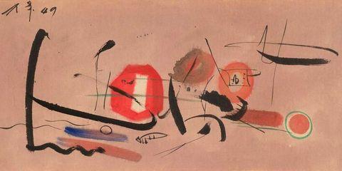 Untitled (1957) by Li Yuan-chia