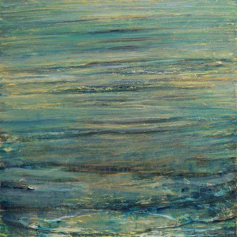 Entering the Sea by Celia Paul