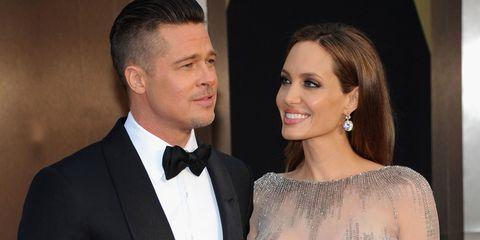 Celebrity divorces - Brad Pitt and Angelina Jolie