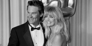 Goldie Hawn and Kurt Russell in 1989