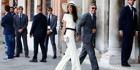 George and Amal Clooney wedding