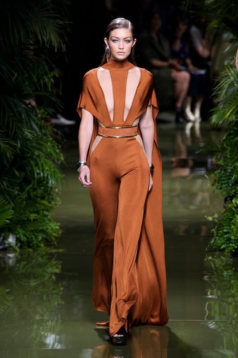 Balmain spring/summer 2017, Paris Fashion Week